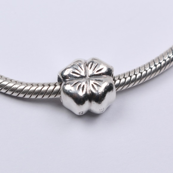 Pandora Jewelry - Authentic PANDORA Sterling Silver Flower Charm